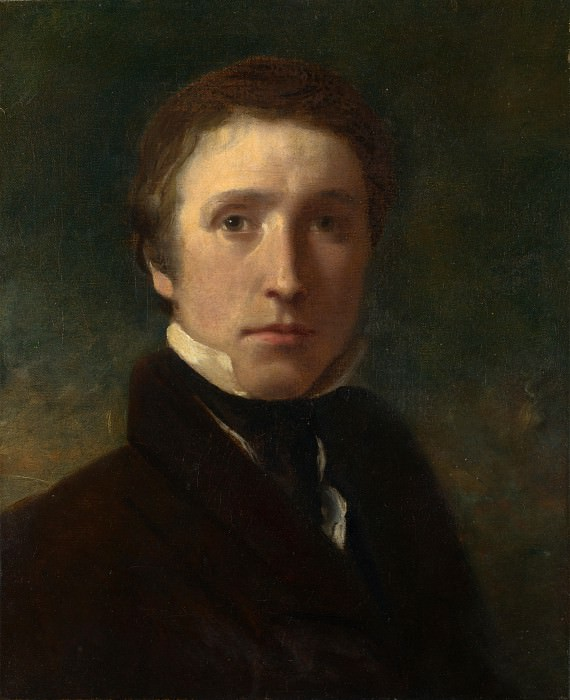Sir William Boxall - Self Portrait at the Age of about Nineteen. Part 6 National Gallery UK
