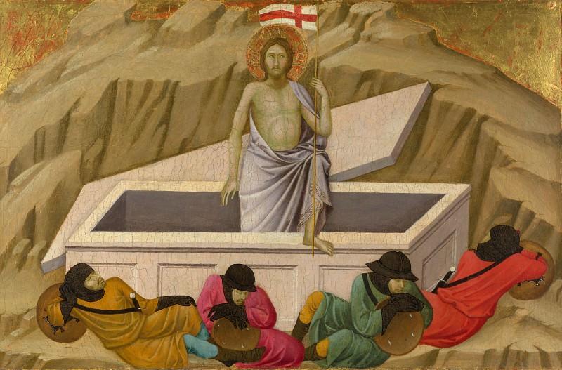 Ugolino di Nerio - The Resurrection. Part 6 National Gallery UK