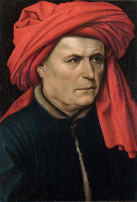 Робер Кампен - Мужской портрет. Часть 6 Национальная галерея