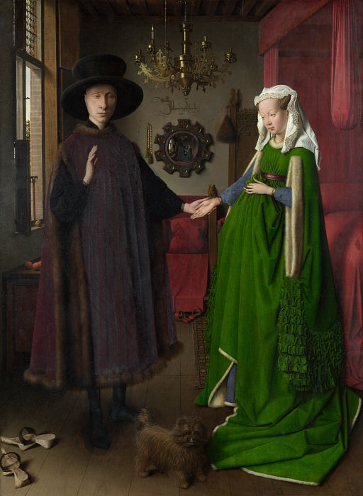 The Arnolfini Portrait - Jan van Eyck. Part 6 National Gallery UK