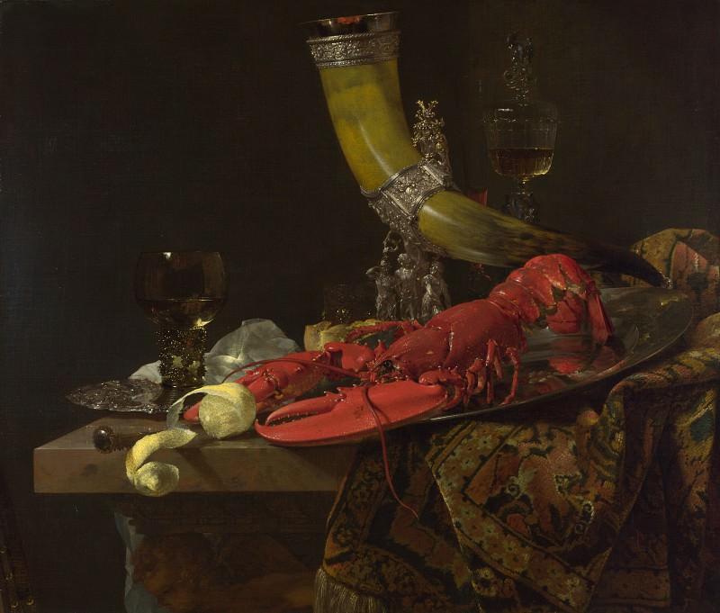 Willem Kalf - Still Life with Drinking-Horn. Part 6 National Gallery UK