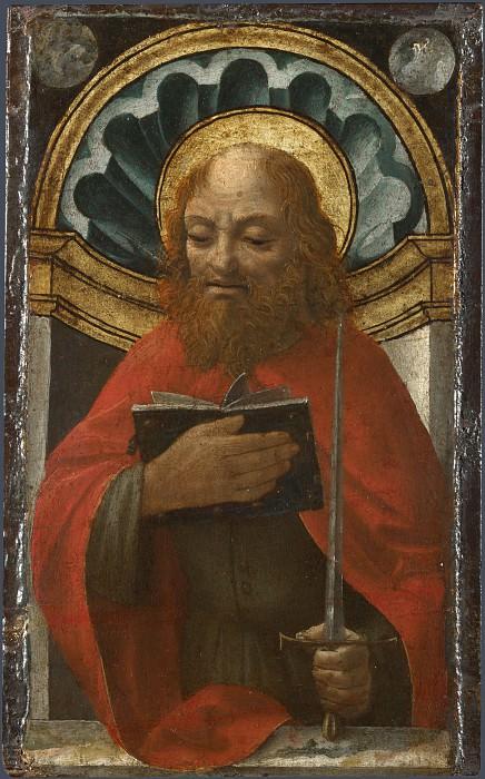 Мастер Пала Сфорцеска - Святой Павел. Часть 6 Национальная галерея