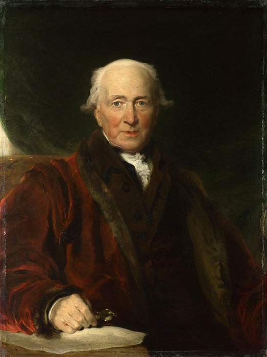 Sir Thomas Lawrence - John Julius Angerstein, aged over 80. Part 6 National Gallery UK