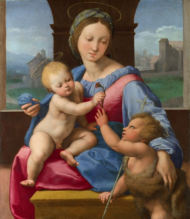 Raphael - The Garvagh Madonna. Part 6 National Gallery UK