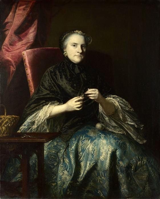 Sir Joshua Reynolds - Anne, 2nd Countess of Albemarle. Part 6 National Gallery UK