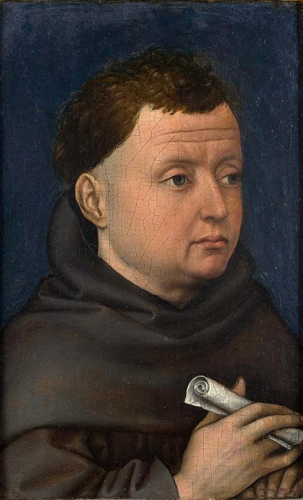 Робер Кампен (мастерская) - Портрет францисканца. Часть 6 Национальная галерея