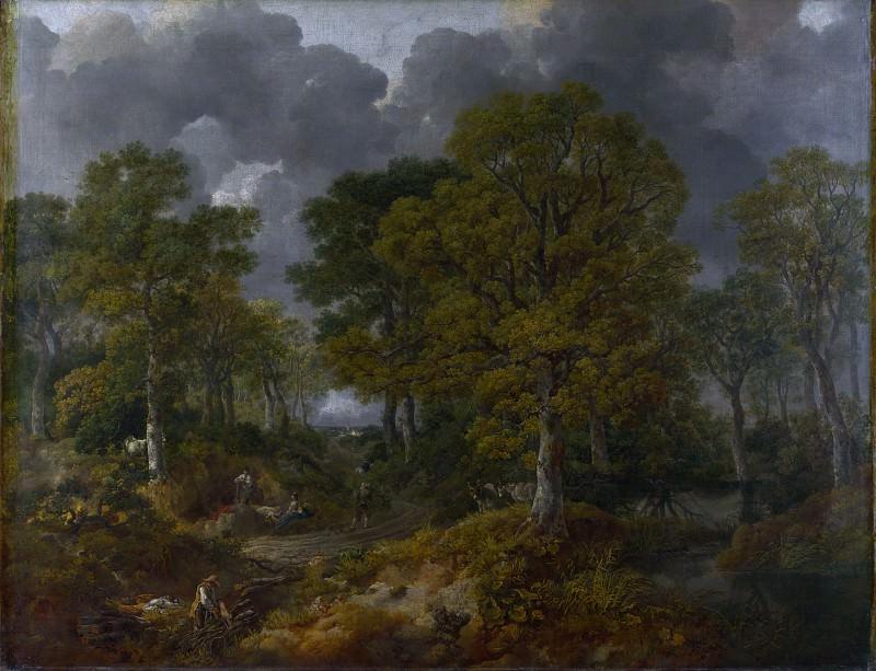 Томас Гейнсборо - Корнард Вуд близ Садбери, Саффолк. Часть 6 Национальная галерея
