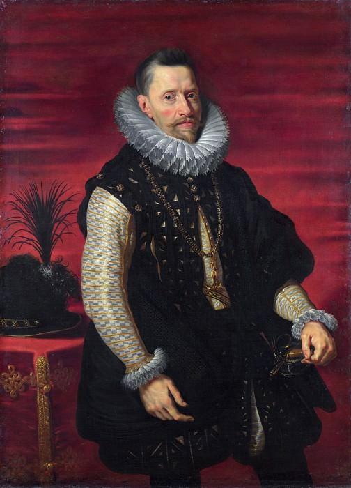 Studio of Peter Paul Rubens - Portrait of the Archduke Albert. Part 6 National Gallery UK