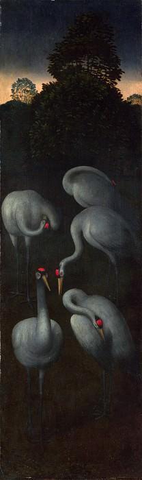 Saints John the Baptist and Lawrence - Hans Memling. Part 6 National Gallery UK