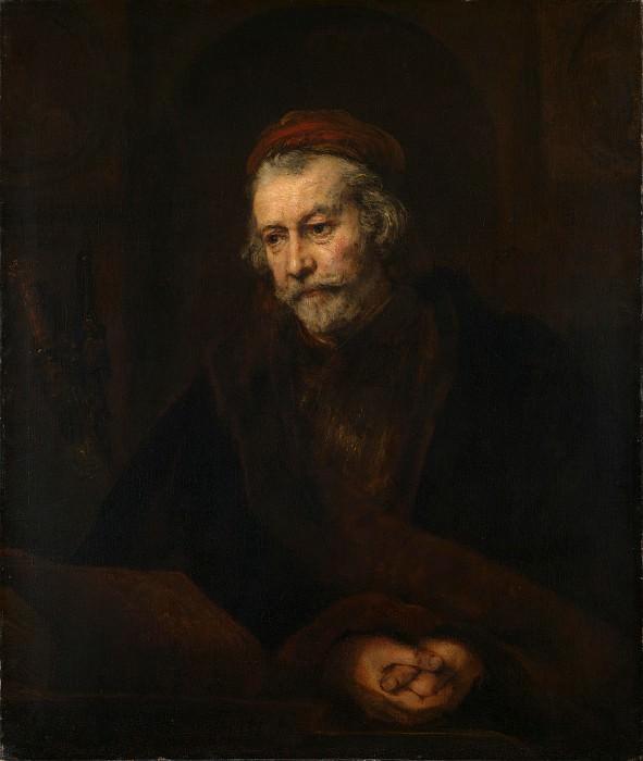 Saint Paul. Rembrandt Harmenszoon Van Rijn