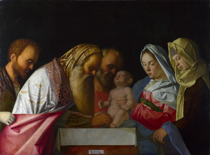 The Circumcision. Giovanni Bellini (Workshop)