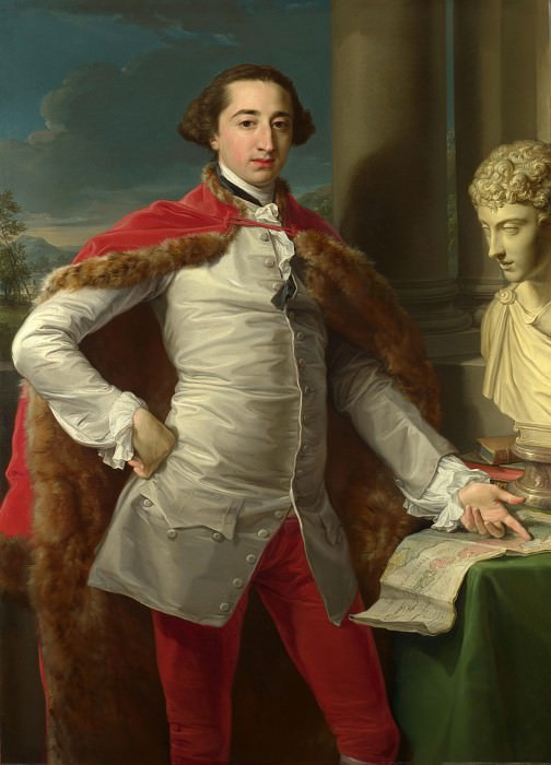 Pompeo Girolamo Batoni - Portrait of Richard Milles. Part 6 National Gallery UK
