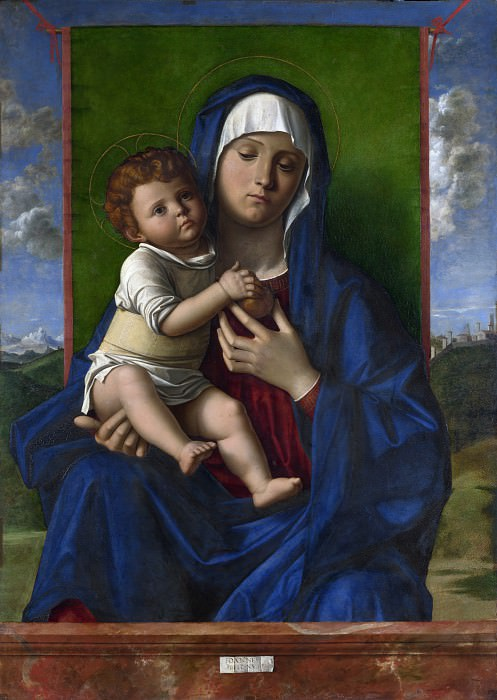 The Virgin and Child. Giovanni Bellini (Workshop)