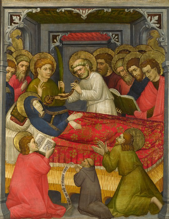Tyrolese - The Dormition of the Virgin. Part 6 National Gallery UK
