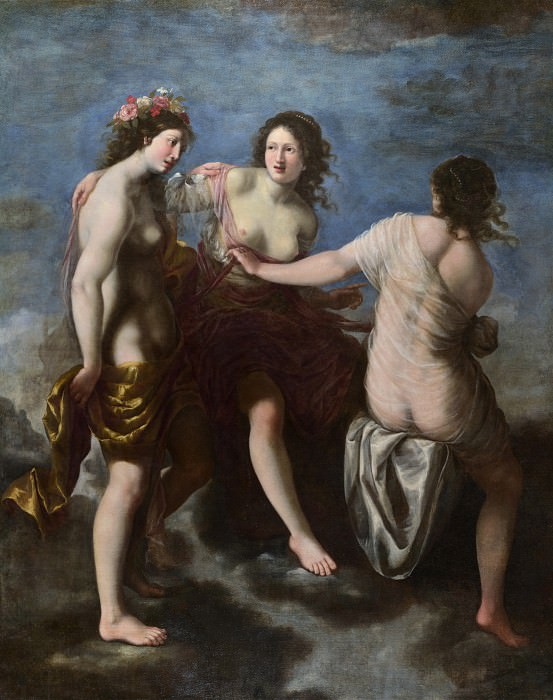 Studio of Francesco Furini - The Three Graces. Part 6 National Gallery UK