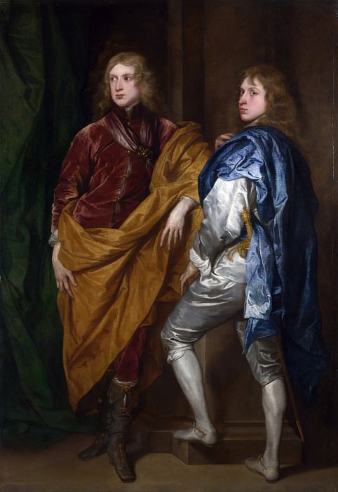 Style of Anthony van Dyck - Portraits of Two Young Englishmen. Part 6 National Gallery UK