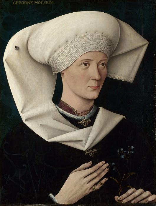 Swabian - Portrait of a Woman of the Hofer Family. Part 6 National Gallery UK