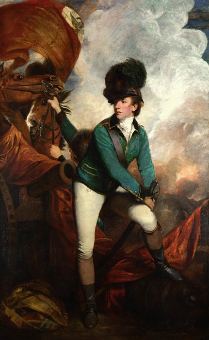 Sir Joshua Reynolds - Colonel Tarleton. Part 6 National Gallery UK