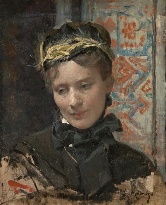 Raimundo de Madrazo - Portrait of a Lady. Part 6 National Gallery UK