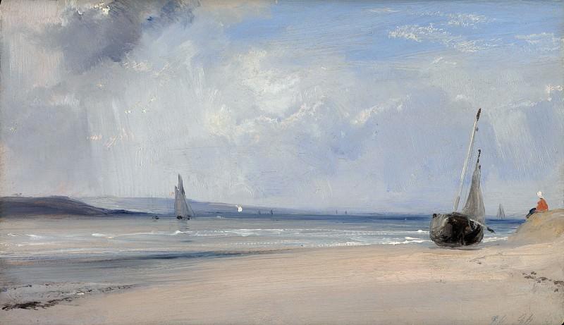 Richard Parkes Bonington - La Ferte. Part 6 National Gallery UK
