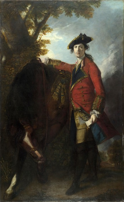 Sir Joshua Reynolds - Captain Robert Orme. Part 6 National Gallery UK