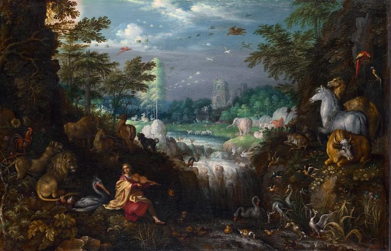 Roelandt Savery - Orpheus. Part 6 National Gallery UK