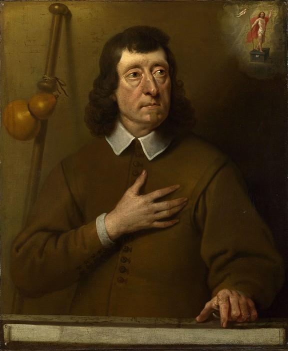 Питер ван дер Плас - Мужской портрет. Часть 6 Национальная галерея