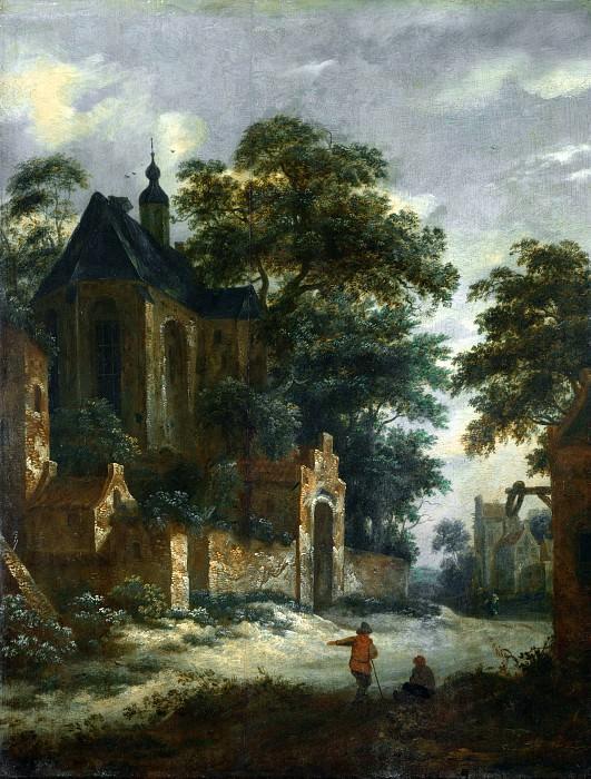 Рулоф ван Врис - Вид на деревню. Часть 6 Национальная галерея