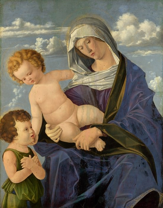 Vincenzo Catena - The Madonna and Child with the Infant Saint John. Part 6 National Gallery UK