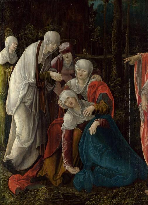 Вольф Хубер - Прощание Христа с Матерью. Часть 6 Национальная галерея