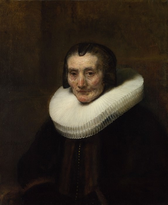Portrait of Margaretha de Geer, Wife of Jacob Trip (1). Rembrandt Harmenszoon Van Rijn
