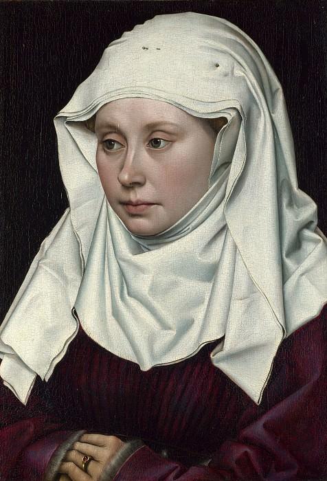 Робер Кампен - Женский портрет. Часть 6 Национальная галерея