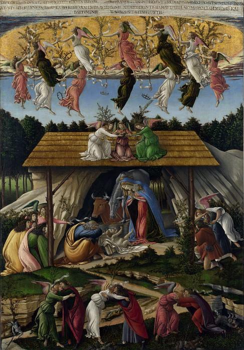 Sandro Botticelli - Mystic Nativity. Part 6 National Gallery UK
