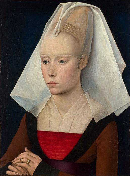 Рогир ван дер Вейден (мастерская) - Портрет дамы. Часть 6 Национальная галерея