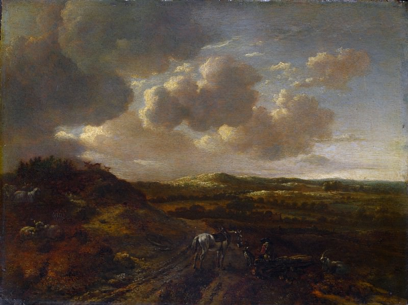 Willem Buytewech the Younger - A Dune Landscape. Part 6 National Gallery UK