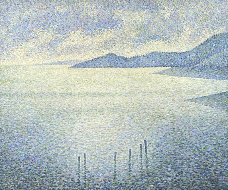 Тео ван Рейссельберге - Прибрежный пейзаж. Часть 6 Национальная галерея