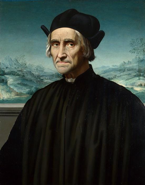 Ridolfo Ghirlandaio - Portrait of Girolamo Benivieni. Part 6 National Gallery UK