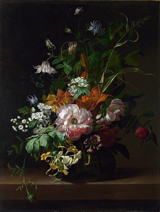 Рюйш, Рашель - Ваза с цветами. Часть 6 Национальная галерея