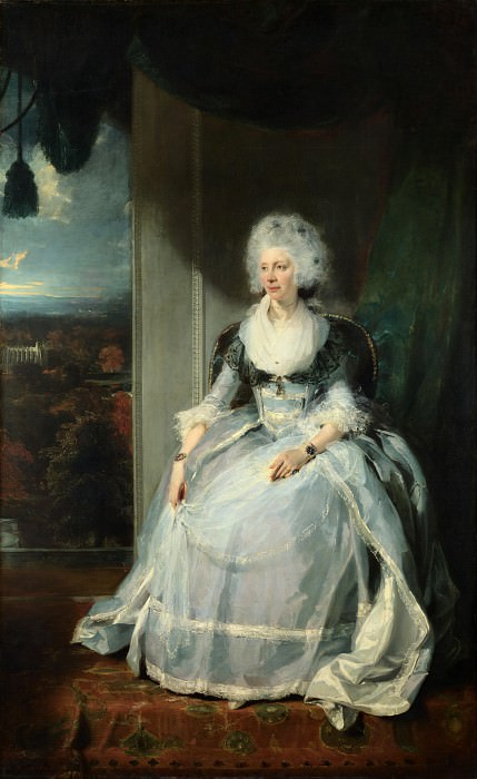 Sir Thomas Lawrence - Queen Charlotte. Part 6 National Gallery UK