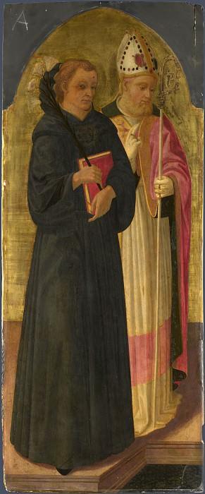 Дзаноби Макиавелли - Святой епископ и святой Николай Чудотворец. Часть 6 Национальная галерея