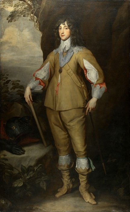 Studio of Anthony van Dyck - Prince Charles Louis, Count Palatine. Part 6 National Gallery UK