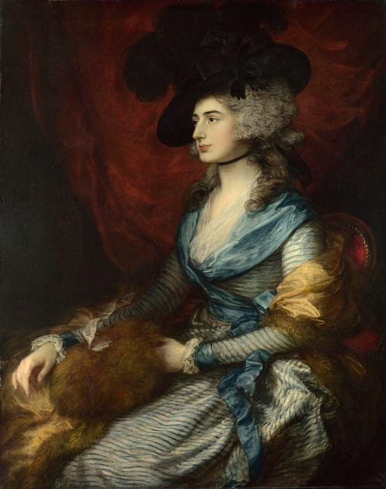 Томас Гейнсборо - Миссис Сиддонс. Часть 6 Национальная галерея