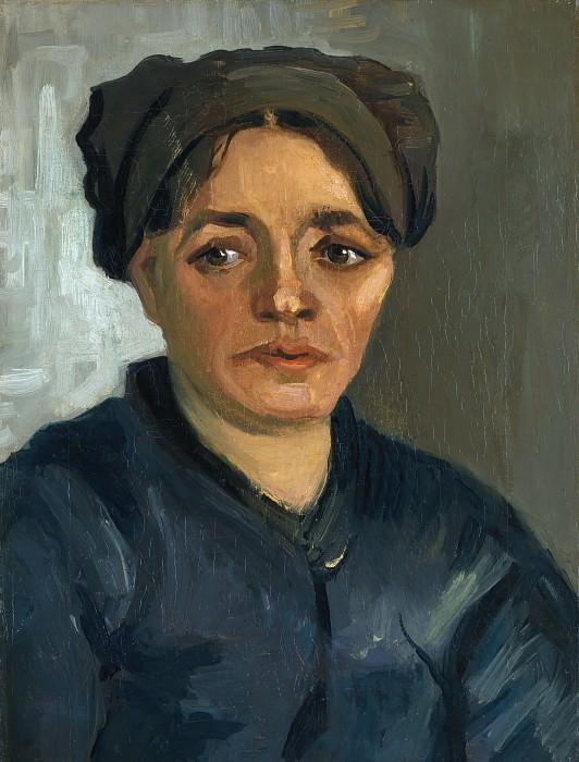 Винсент ван Гог - Голова крестьянки. Часть 6 Национальная галерея
