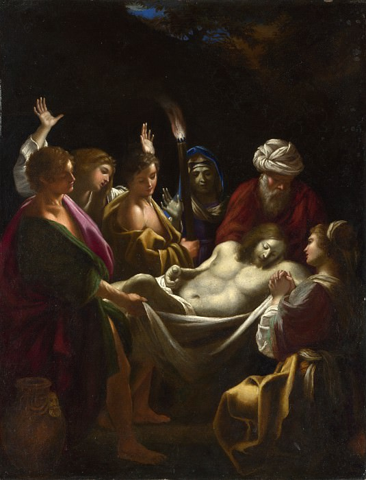 Sisto Badalocchio - Christ carried to the Tomb. Part 6 National Gallery UK