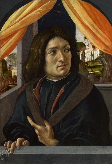 Raffaellino del Garbo - Portrait of a Man. Part 6 National Gallery UK