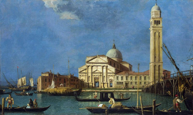 Studio of Canaletto - Venice - S. Pietro in Castello. Part 6 National Gallery UK