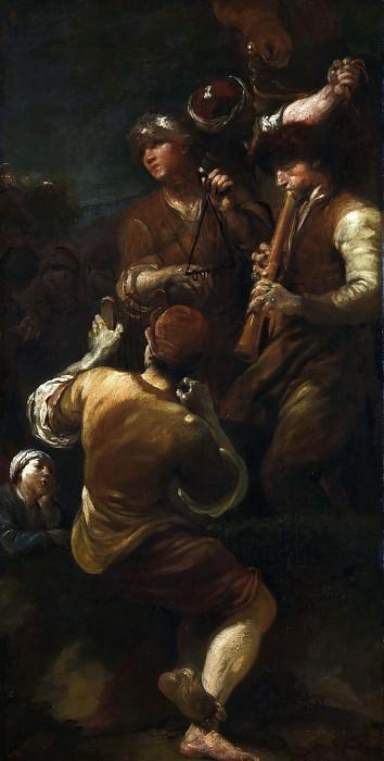 Джузеппе Мария Креспи - Музыканты. Часть 6 Национальная галерея