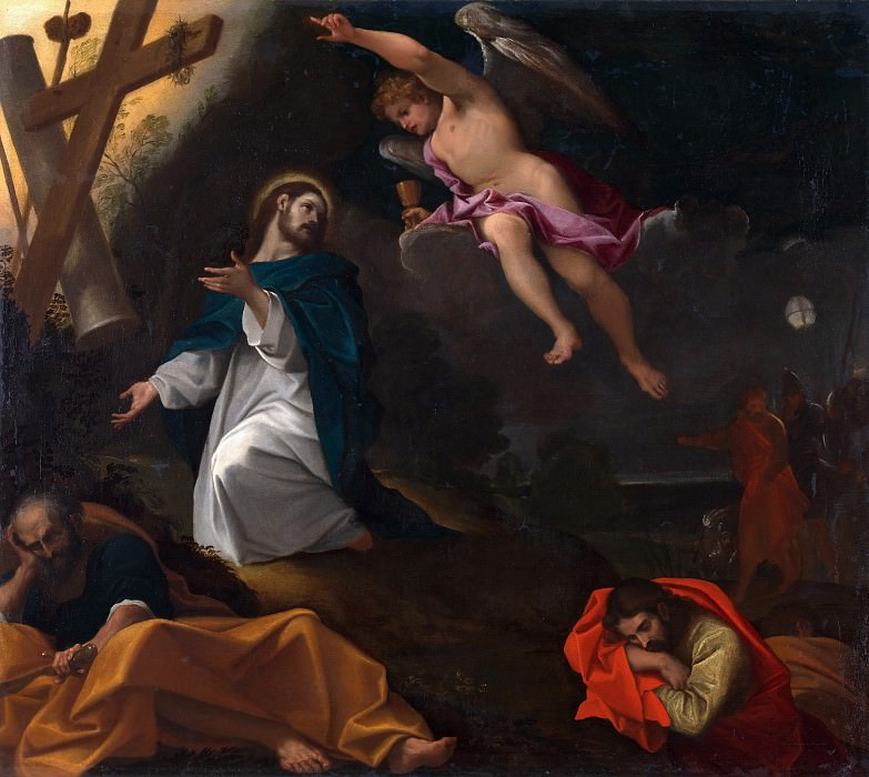 Ludovico Carracci - The Agony in the Garden. Part 6 National Gallery UK