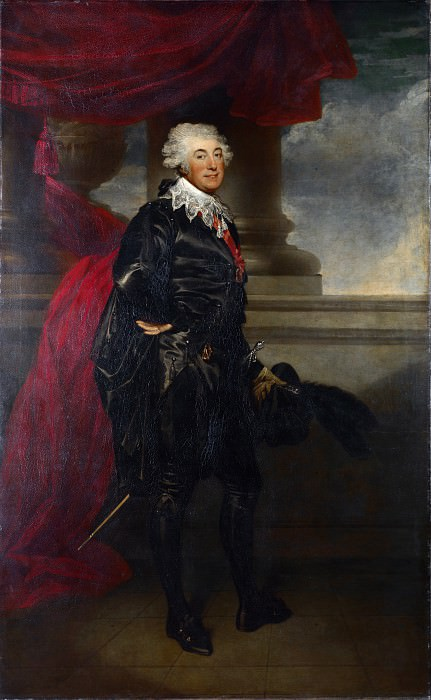 Sir Martin Archer Shee - Mr Lewis as the Marquis in The Midnight Hour. Part 6 National Gallery UK