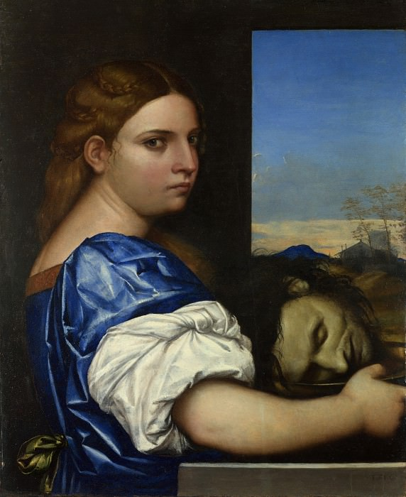 Sebastiano del Piombo - The Daughter of Herodias. Part 6 National Gallery UK
